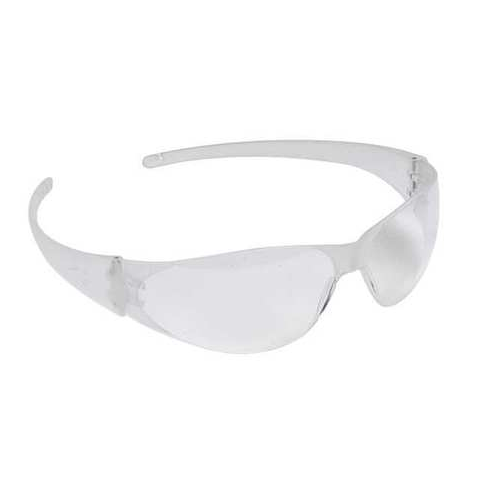 MCR CK100 CheckMate Safety Glasses Clear Uncoated Lens