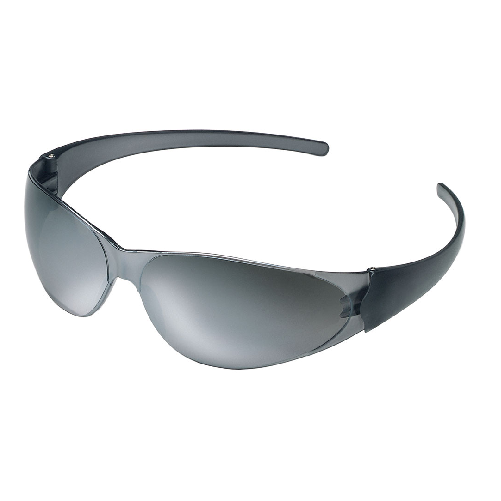 MCR CK117 CheckMate Safety Glasses Silver Mirror Scratch Resistant Lens