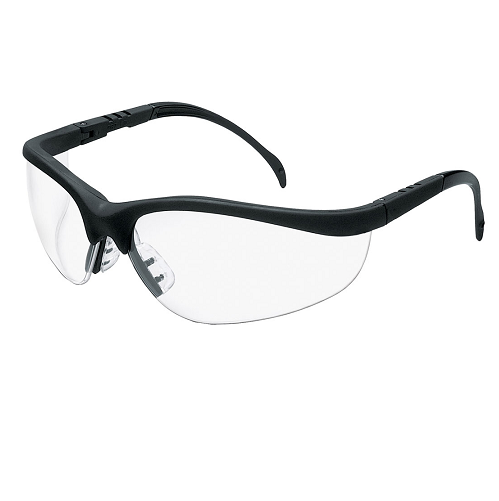 MCR KD110AF Klondike Safety Glasses Anti-Fog Clear Lens Anti-Scratch