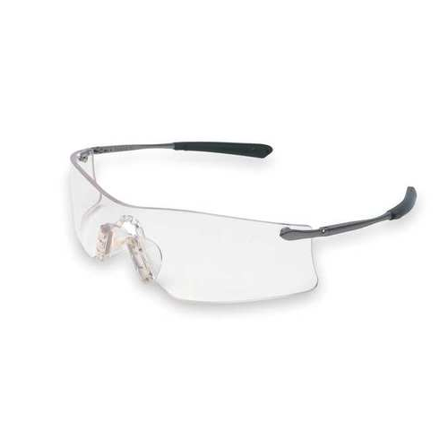 MCR T4110AF Rubicon Safety Glasses Clear Anti-Fog Scratch Resistant Lens