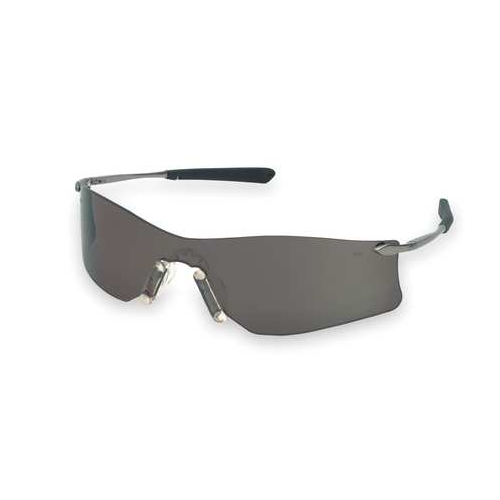 MCR T4112AF Rubicon Safety Glasses Gray Anti-Fog Scratch Resistant Lens