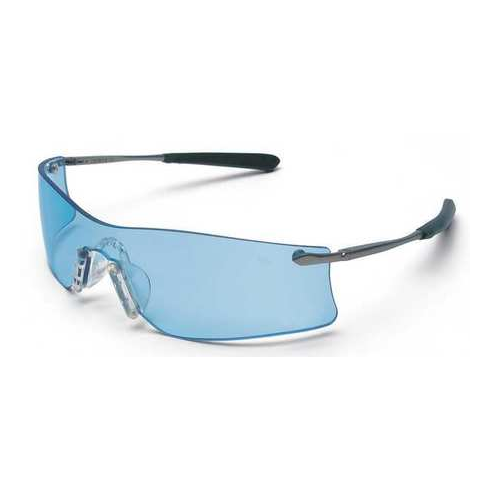 MCR T4113AF Rubicon Safety Glasses Light Blue Anti-Fog Scratch Resistant Lens