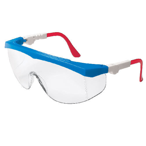 MCR TK130AF Tomahawk Safety Glasses Anti-Fog Clear Lens Anti-Scratch