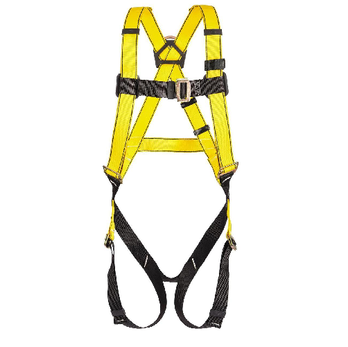 MSA 10072479 Workman Full Body Harness Qwik Fit Legs Standard Size 400lbs