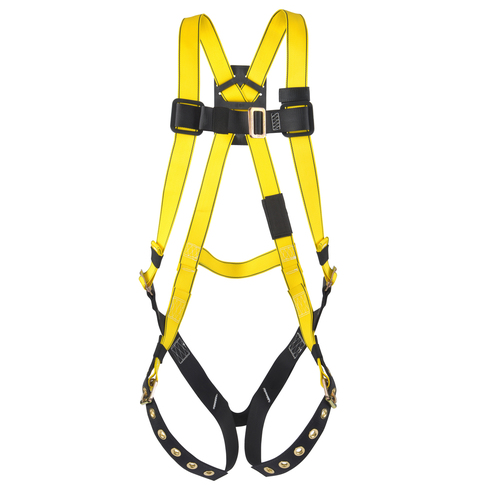 MSA 10072487 Workman Full Body Harness Standard Size 400lbs
