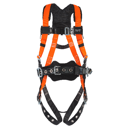 Miller T4000/UAK Titan II Non-Stretch Harness 400 Pounds