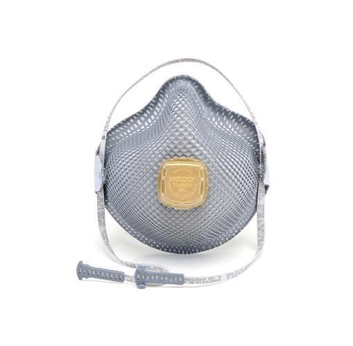 Moldex 2940R95 Disposable Particulate Respirator Acid Gas Relief Protection with HandyStrap and Ventex Valve