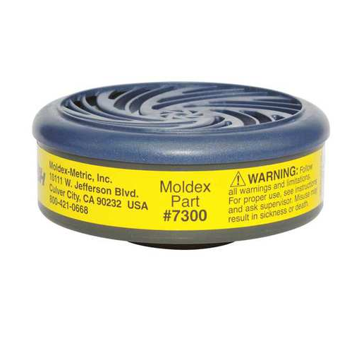 Moldex 7300 Organic Vapor Acid Gas Respirator Cartridge