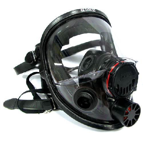 North 760008AS Full Face Respirator Small