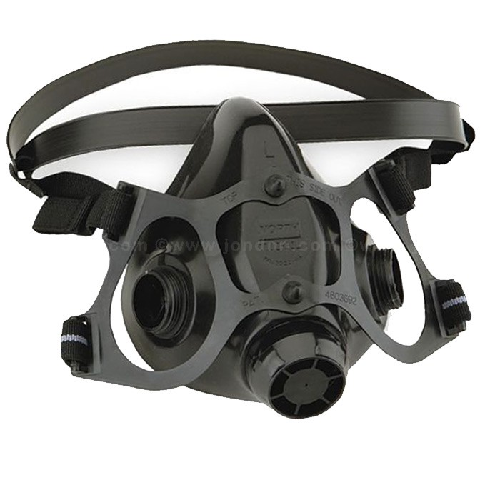 Moldex 2840R95 Disposable Particulate Respirator Organic Vapor Ozone Relief Protection with HandyStrap and Ventex Valve