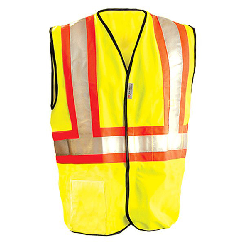 Occunomix LUX-SC2TZ Class 2 High Visibility Premium Mesh Two-Tone Expandable Safety Vests