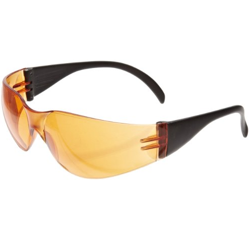 SAS 5342 NSX Orange Safety Glasses