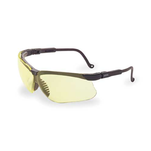UVEX S3202 Safety Glasses Genesis Amber Lens