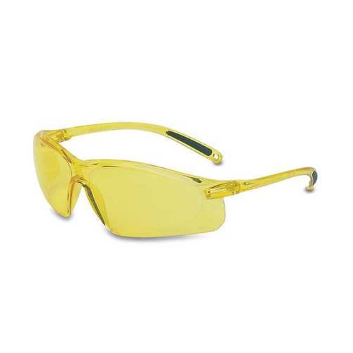 UVEX A702 Safety Glasses Amber Anti-Scratch Lens