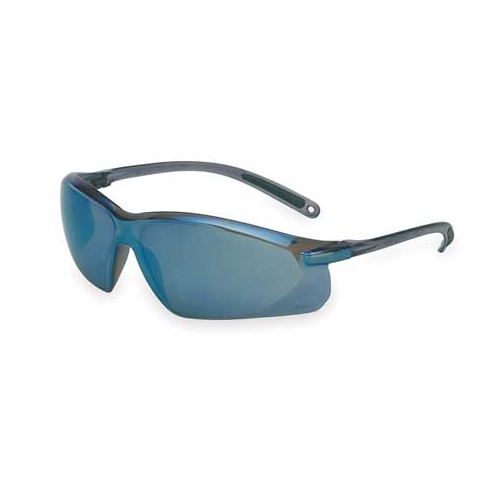 UVEX A703 Safety Glasses Blue Mirror Anti-Scratch Lens