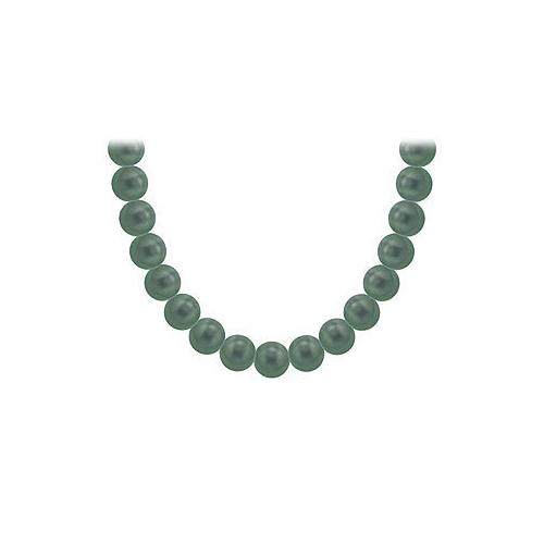 Tahitian Pearl Necklace : 18K Yellow Gold  8.00 - 10.00  MM