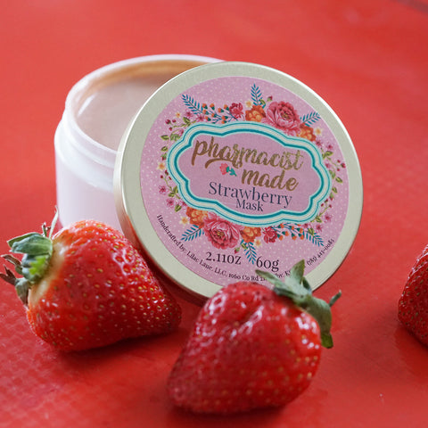 organic strawberry mask