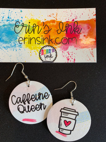 Caffeine Queen Earrings