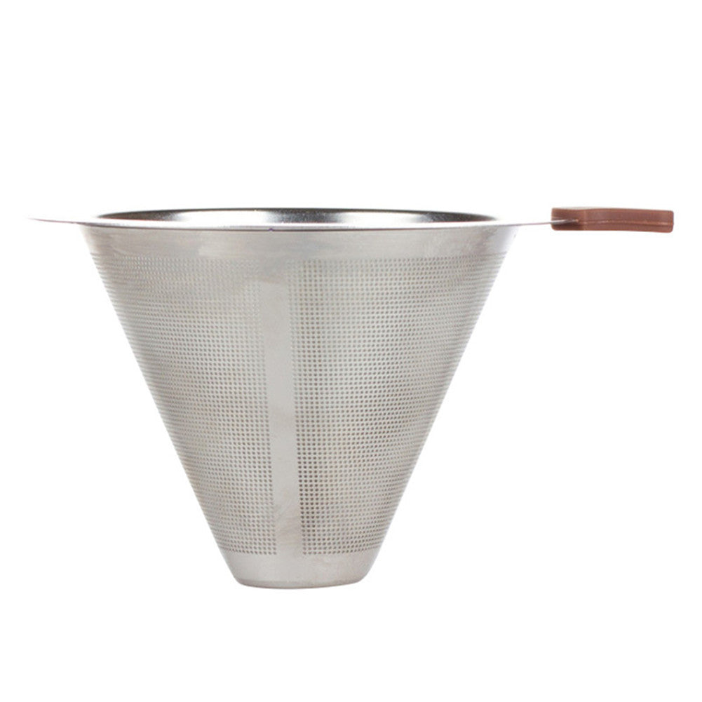 Small Size Stainless Steel Reusable Coffee Filter