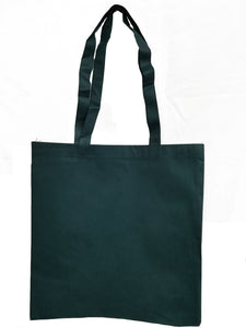 Wholesale Budget tote in Forest Green