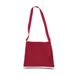 Small Messenger bag in Red