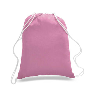 Cotton Drawstring Backpacks