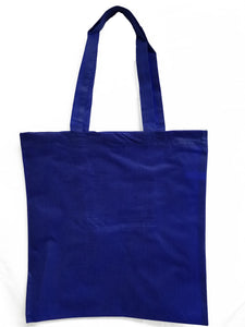 Wholesale Budget tote in Royal Blue