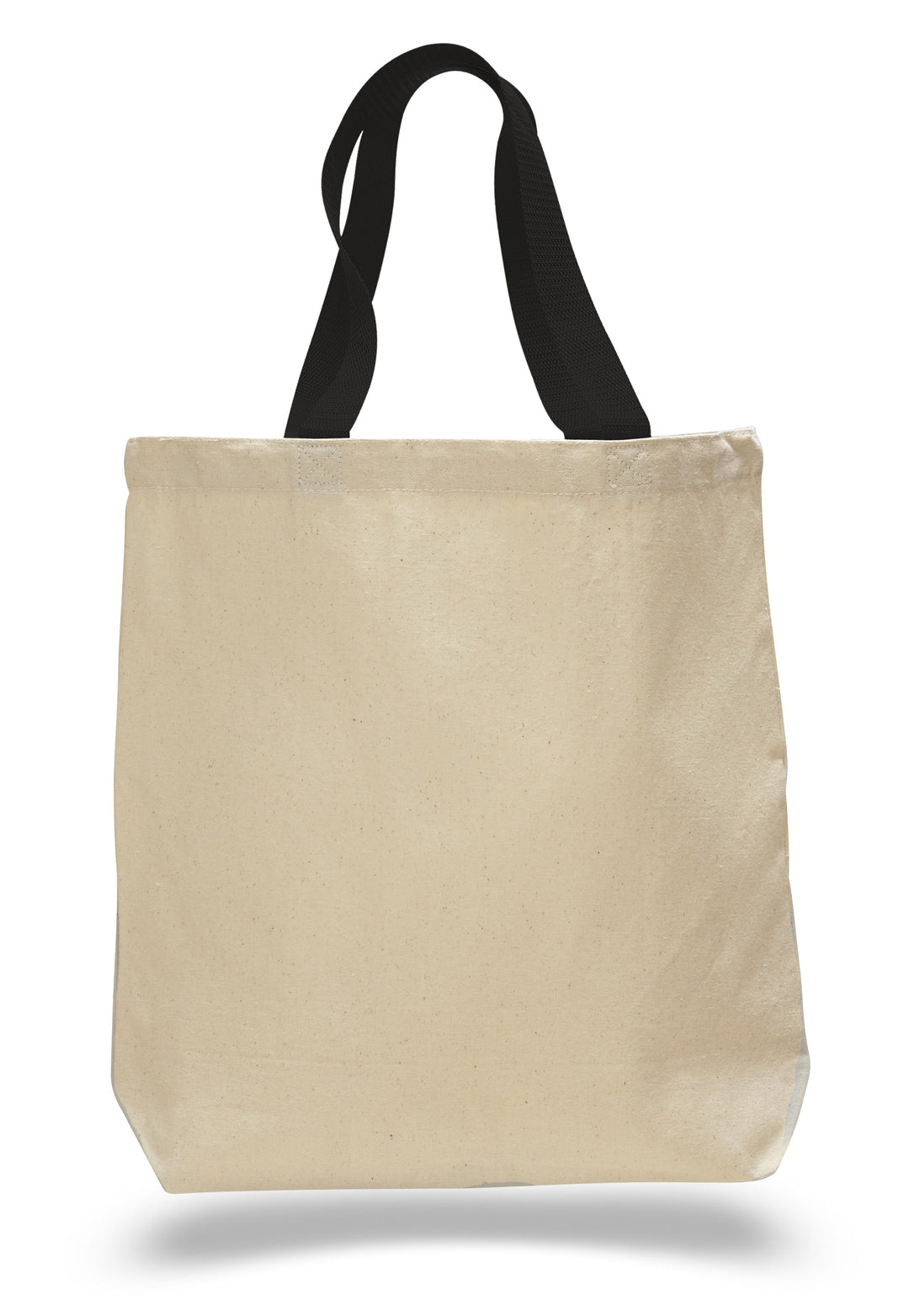 Wholesale Canvas Jumbo Tote With Colored Handles