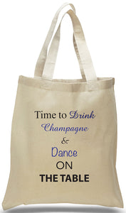 Champagne and Dance! Wedding Favor Bags