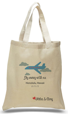 6827c8e5b Fly Away With Us! Special Occasion Canvas Tote Bag