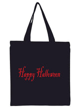 Happy Halloween Canvas Tote