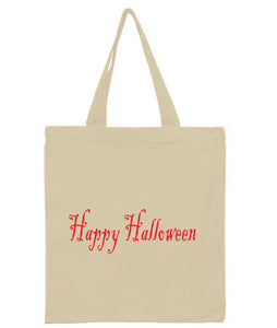 Discount Halloween Trick or Treat All Cotton Canvas Totes!!! Available in various colors $3.99 - $4.49! Please contact us for available wholesale pricing for builk orders