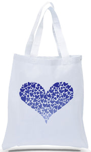 Heart Design on All Cotton Canvas Tote Just $3.99 Each.