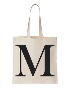Alphabet Totes, Made of 100% Cotton Canvas, for Promotional Events Available at Discount Prices.
