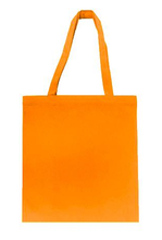 Wholesale Budget tote in Orange