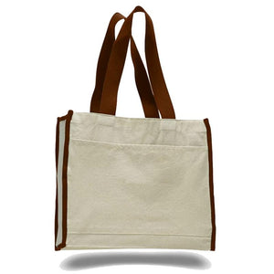 Quality All Cotton Canvas Tote Available at Wholesale Prices Just $3.59 Each.