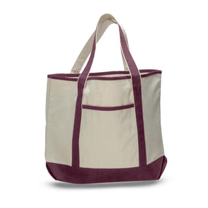 Classic Deluxe Teacher's Tote Bag Made of 100% Cotton Heavy Canvas at Wholesale Prices! Just $5.99 Each.