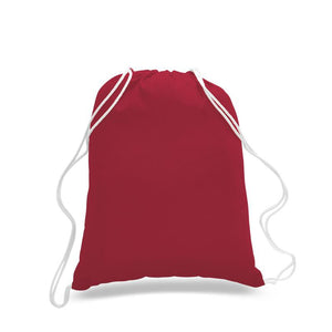 Wholesale All Cotton Laundry and Travel Duffel Tote Bag Just $2.49 Each.  Custom Logo Printing Available!