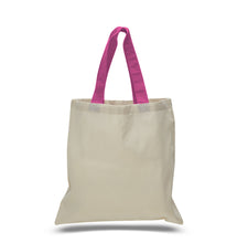 Classic All Cotton Canvas Tote at Wholesale Discount Prices, Just $1.19 Each with No Minimum Purchase Required!