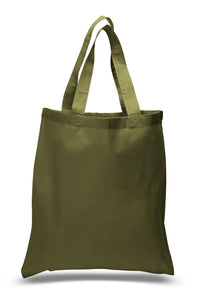 Wholesale All Cotton Lightweight Canvas Tote Just $.89 - $1.19 Each with No Minimum Purchase Required!