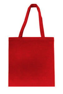 Wholesale Budget tote in Red