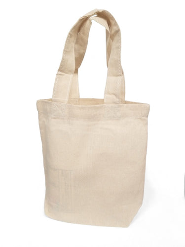 All Cotton, All Natural Small Canvas Tote Bags Just $.79 Each With No Minimum Purchase Required!
