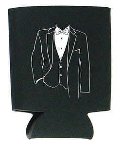 Koozies with Tuxedo Design Ideal for Special Events Just $5.00 Each.