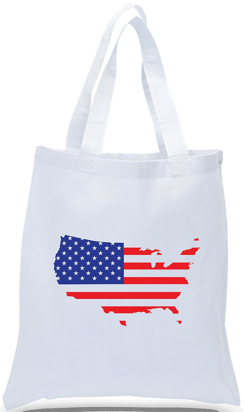 Flag Across USA! On All Cotton White Canvas, Ideal for Political Rallies, Parades, The 4th of July and Much More, Just $3.99 Each.  Further Discounts May Be Available for Large Orders.