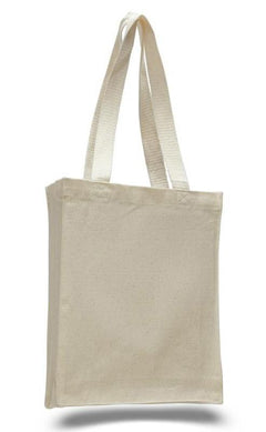 Canvas Book and Brief Tote with Gusset  2.65 57e31bbe2ba71