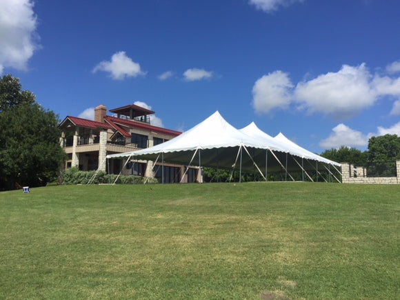 40x100 ohenry high peak party tent