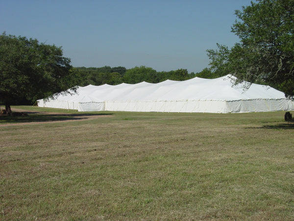 ohenry 60x270 traditional pole type party tent