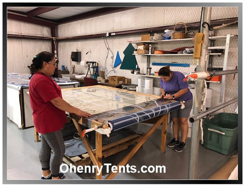 Ohenry Window sidewalls for tents