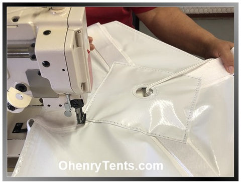Ohenry tent making process