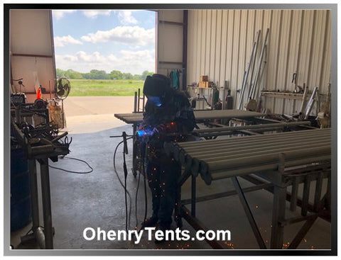 welding ohenry side poles